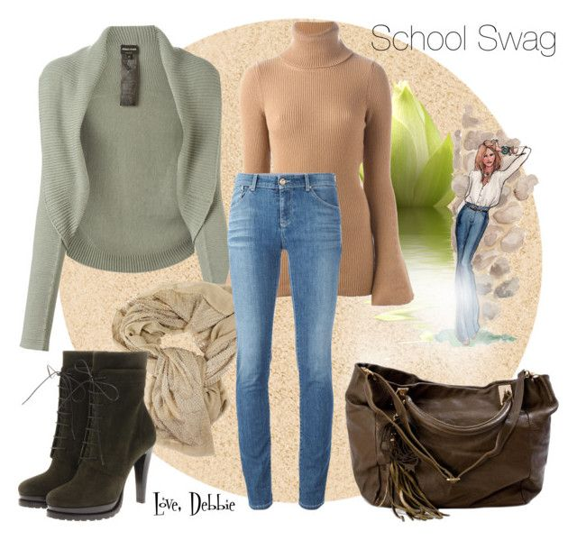 """""""School Swag"""" by debbie-michailides ❤ liked on Polyvore"""