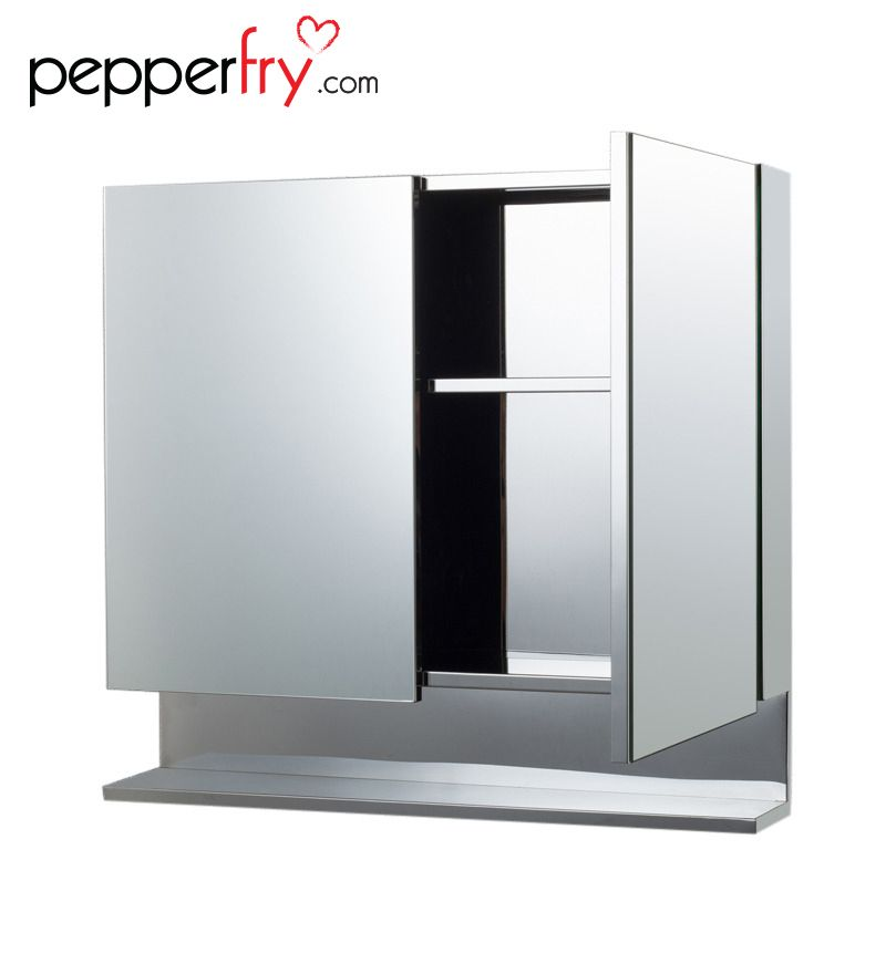 Buy Cipla Plast Double Door Stainless Steel Bathroom Cabinet Online Bathroom Cabinets Bathroom Cabinets Homeware Pepperfry Product Stainless Steel Bathroom Cabinets Online Bathroom Storage Cabinet