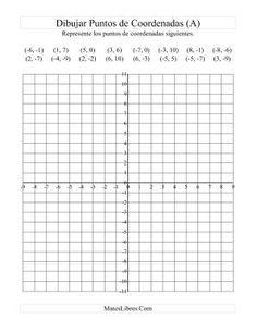 Representar Puntos de Coordenadas (A) | matemáticas primaria ...