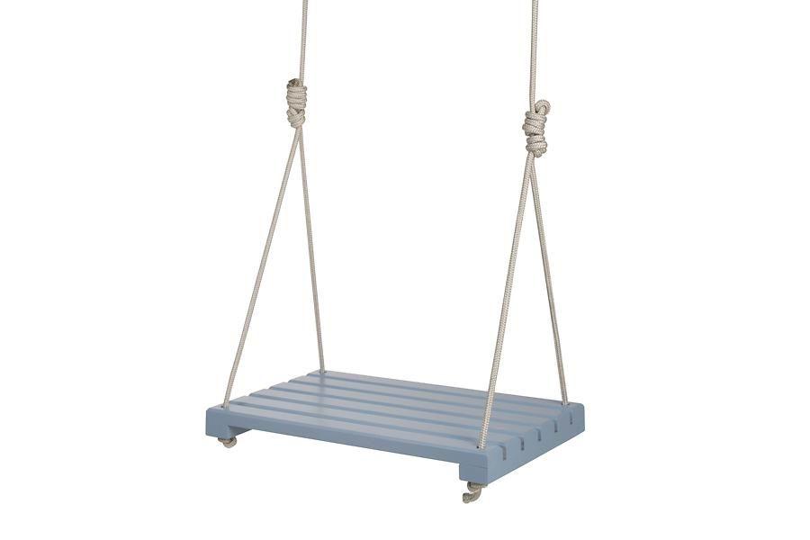 meu móvel de madeira - 130,00 Balanço Tão Perto, Tão Longe - Azul Cosmos