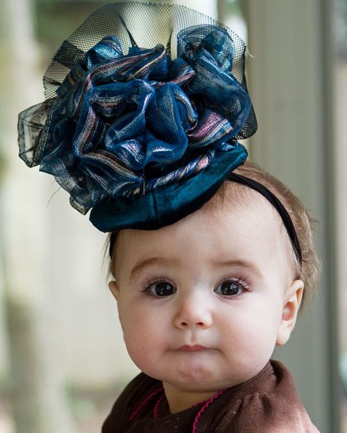 Upscaled Baby Couture Fascinator Hat aa0b8fb4f94