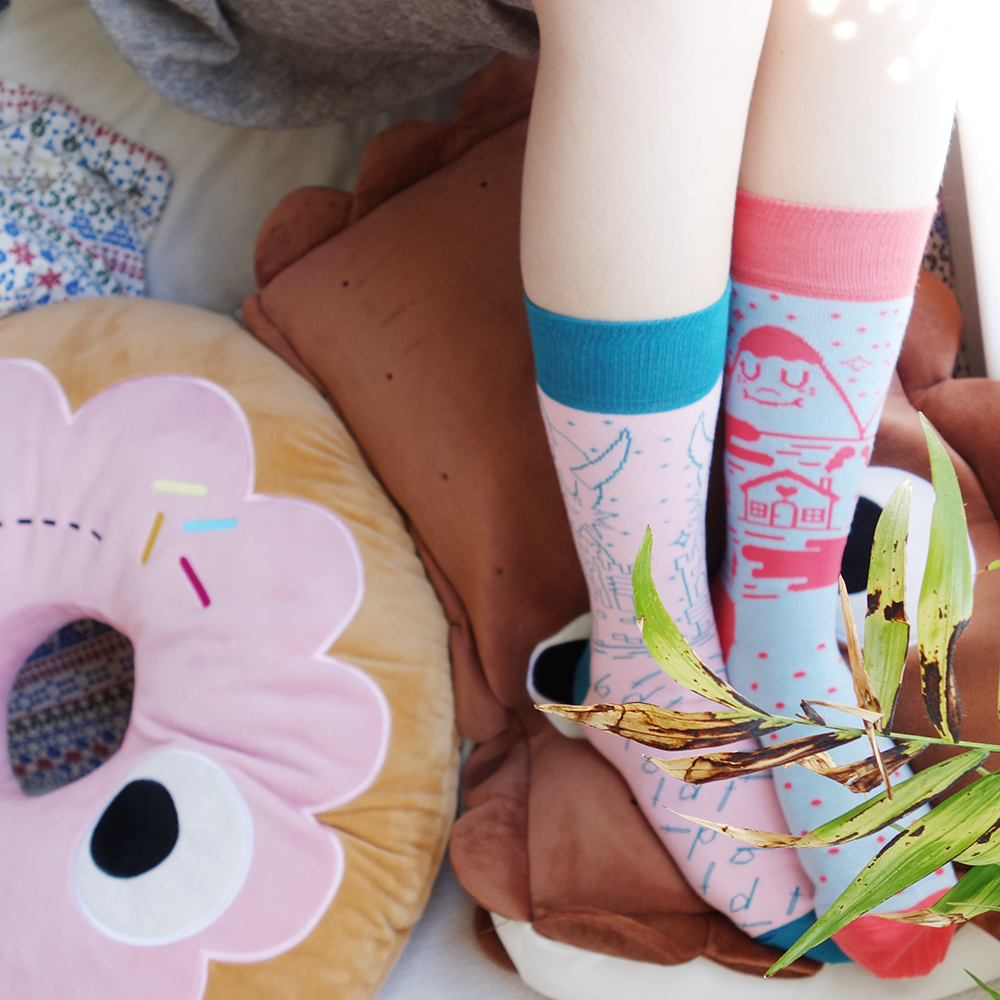 Cute, Fun Socks by Odd Pears. Shop Now: http://www.oddpears.com/shop/
