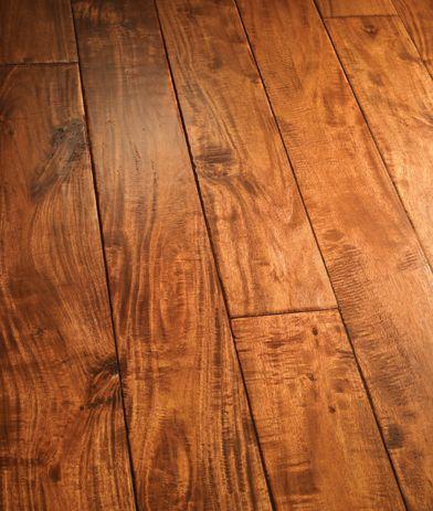 Artisan HandCarved Engineered Hardwood Flooring SmallLeaf Acacia - Parkour flooring
