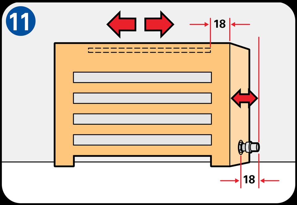 comment fabriquer un cache radiateur bricolage diy. Black Bedroom Furniture Sets. Home Design Ideas