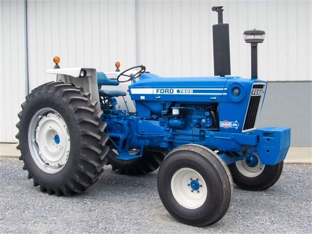 1978 Ford 7600 Tractors Ford Tractors Vintage Tractors