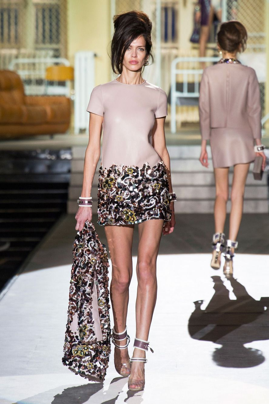 Dsquared2 Fall 2014 RTW Collection