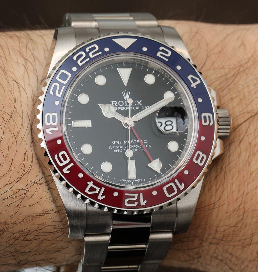 Rolex Gmt Master Ii 116719 Blro Watch Pepsi Ceramic Red Blue Bezel Ablogtowatch Rolex Gmt Master Ii Rolex Gmt Rolex