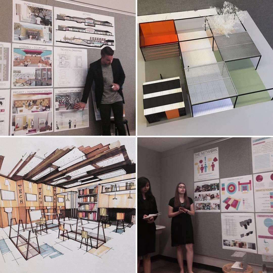 5th Year Interior Architecture Reviews Today Focused Around The Future Of Learning Environments The Research Focus Of Profe School Design Interior Architecture Design