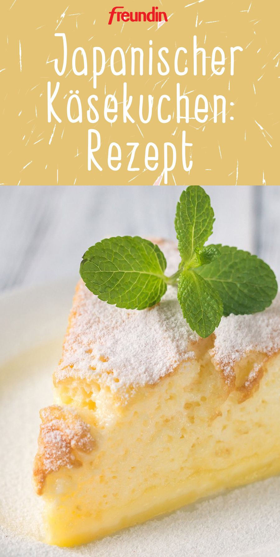 Photo of Lecker! Rezept für fluffigen, japanischen Käsekuchen
