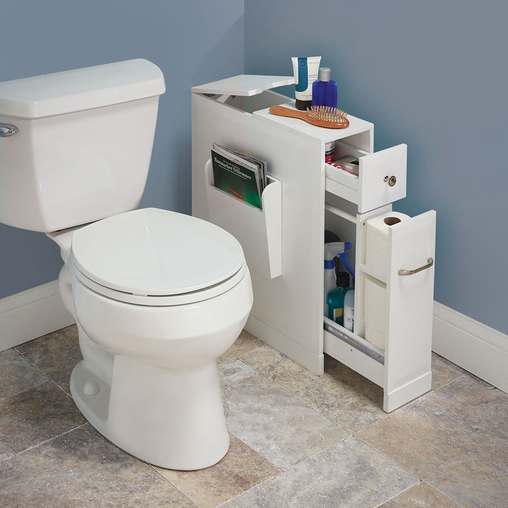 Photos On The Tight Space Bathroom Organizer With a narrow footprint but large capacity this is