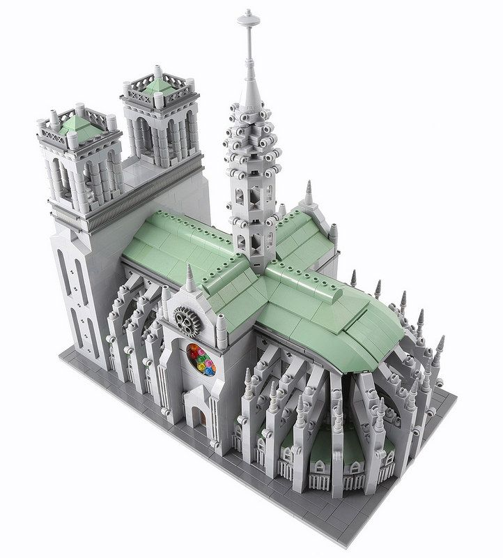 Notre Dame Cathedral Notre Dame Lego And Legos
