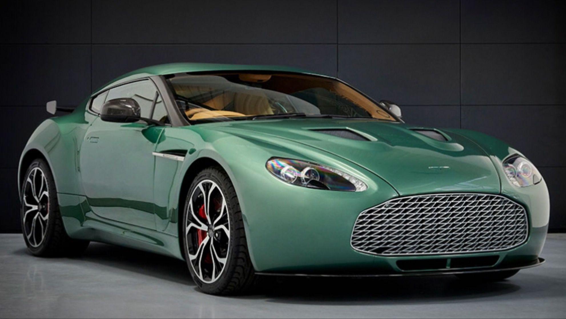 Aston Martin Works Pre Production V12 Vantage Zagato Rebuild After Aston Martin Aston Martin Lagonda Aston
