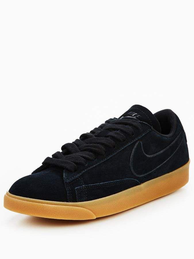 Meditativo Comprimido Humorístico  Nike Blazer Low Suede - Black Gum   Vans old skool sneaker, Vans sneaker, Nike  blazer