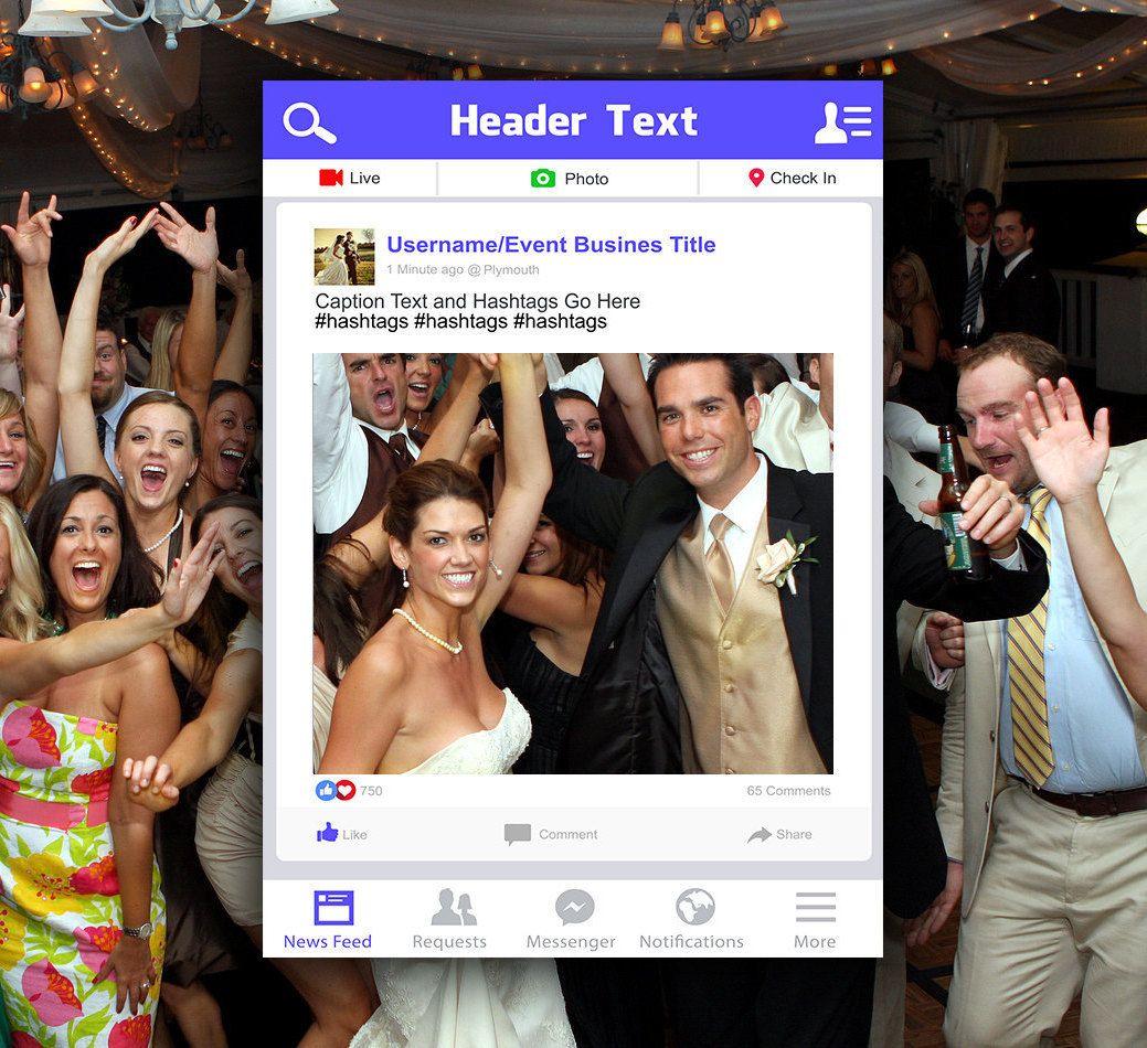 Facebook Photo booth Frame | Facebook Wedding | Facebook Birthday ...