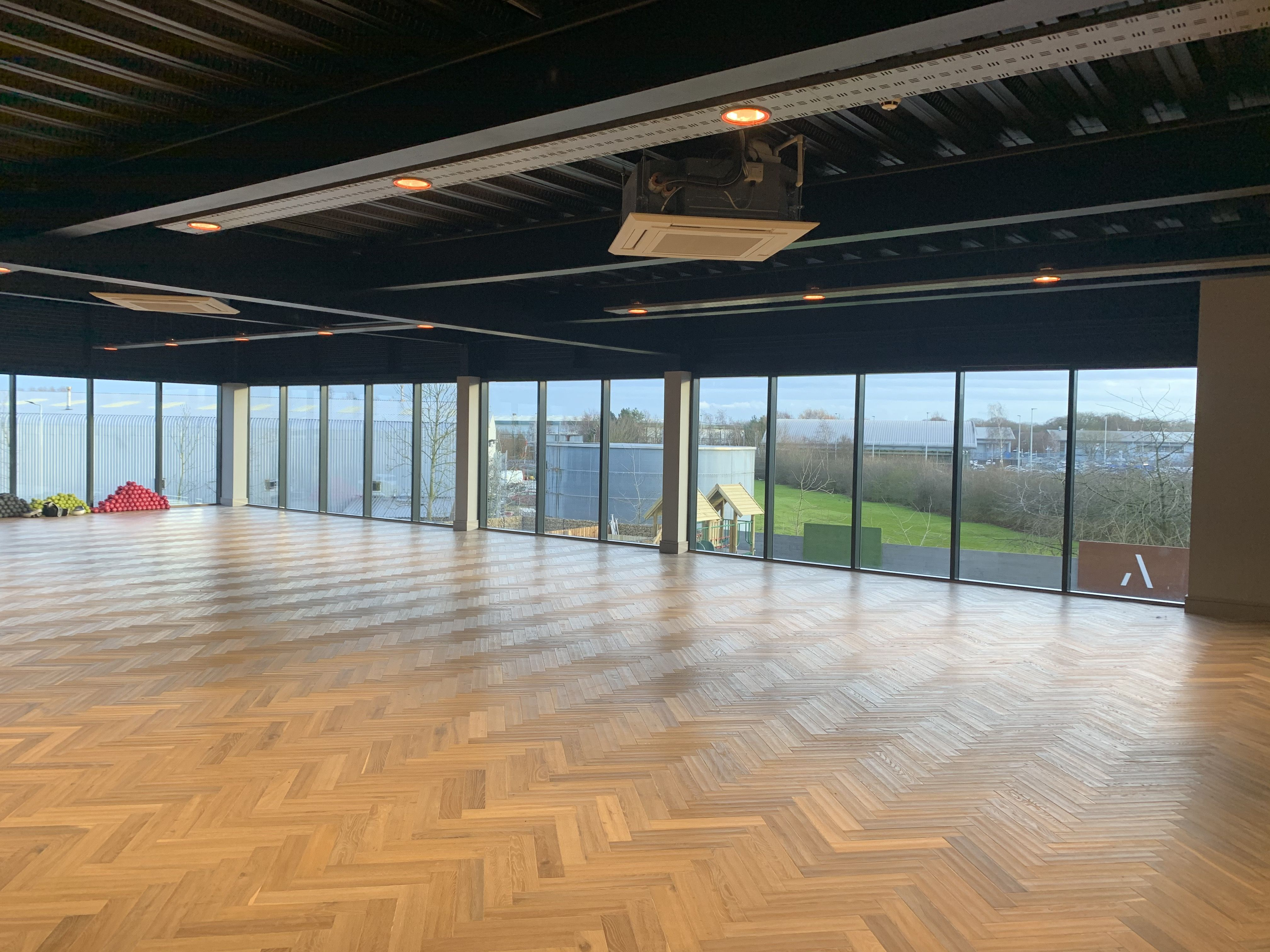 Athelis Lighting Controls Installed by Intecho Gym