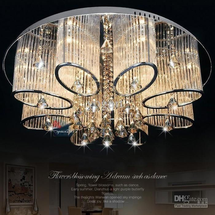 Wunderbar Neue, Moderne Kronleuchter Wohnzimmer Deckenleuchte Lampe Leuchte Kristall  Beleuchtung Von Yogurt