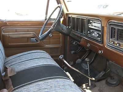 1975 ford truck f250 type pickup truck engine v8 360ci transmission 4 speed manual exterior. Black Bedroom Furniture Sets. Home Design Ideas