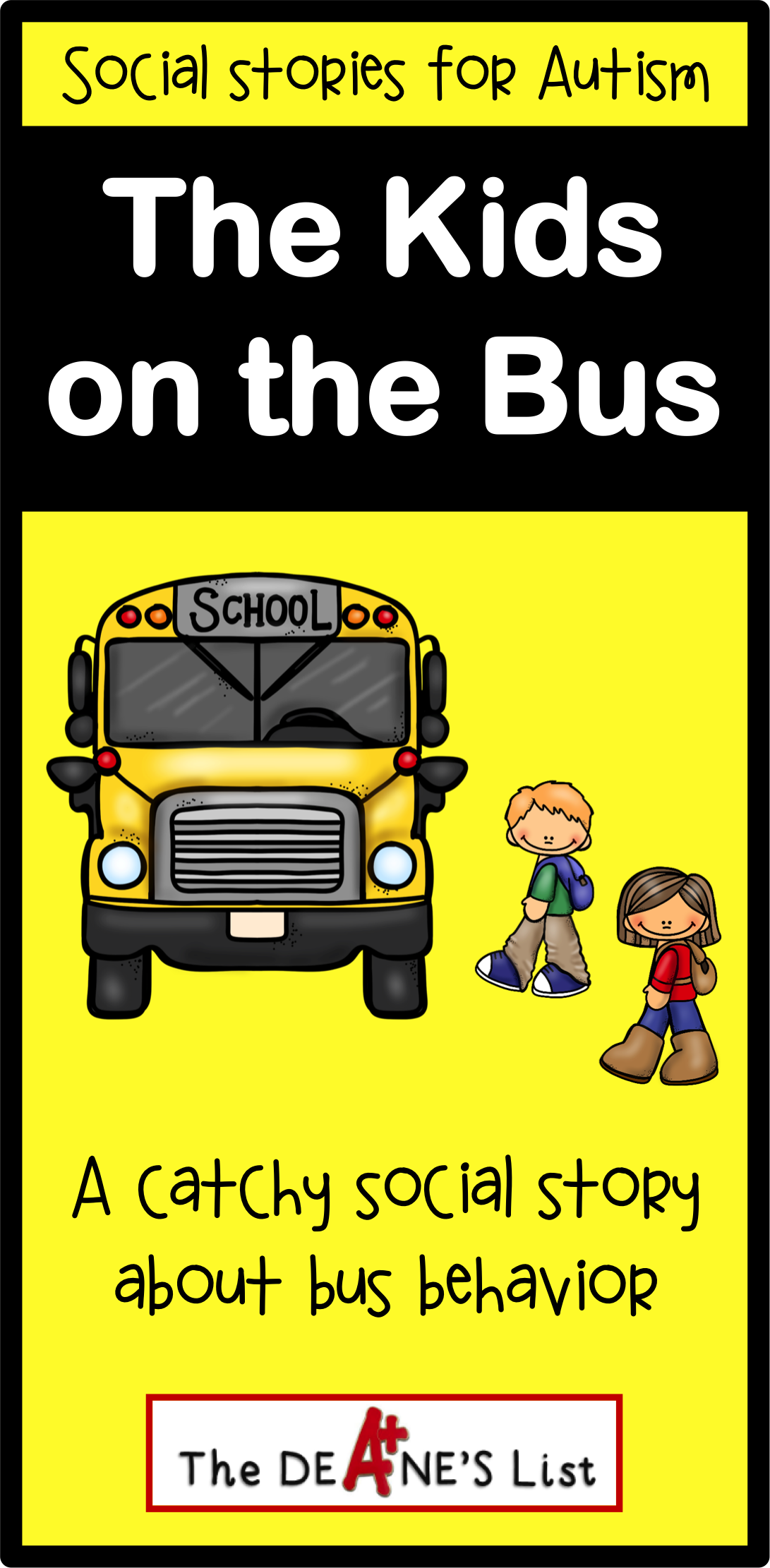 Social Skills Stories The Kids On The Bus