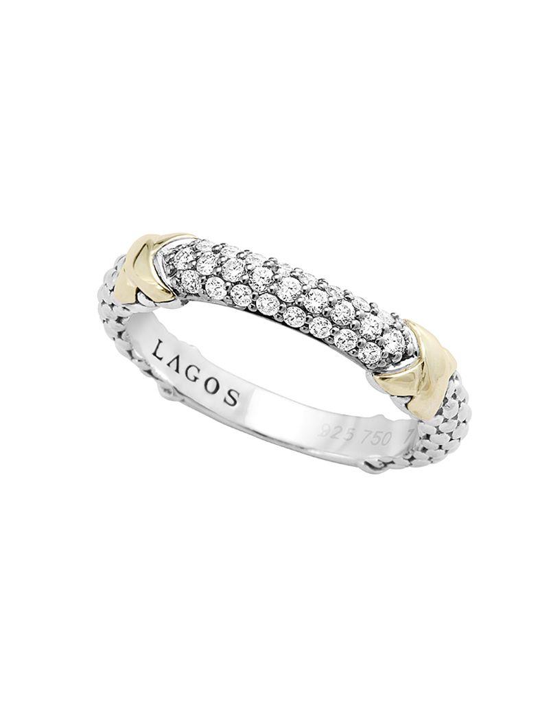 Diamond Lux Beaded Ring | LAGOS.com