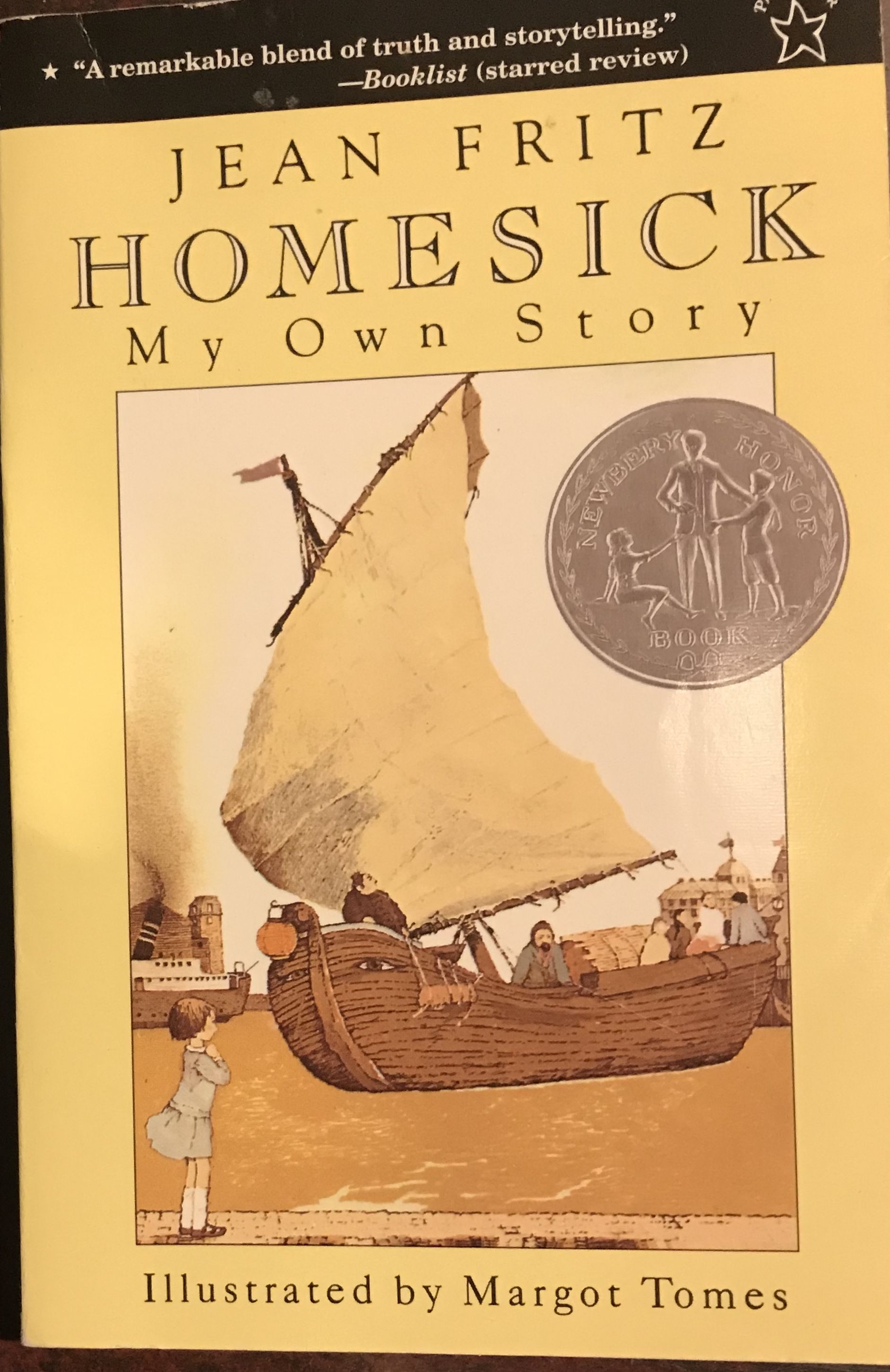 Homesick My Own Story By Jean Fritz Children S Non Fiction I