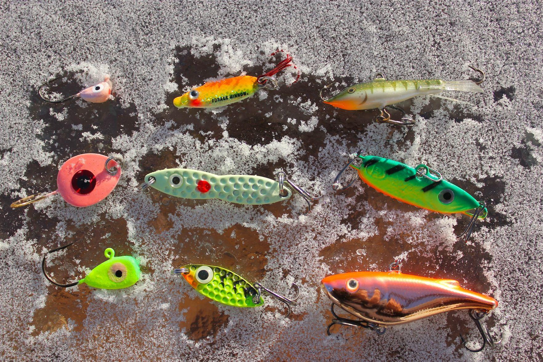 Top walleye lures fishing pinterest fish ice for Best walleye ice fishing lures