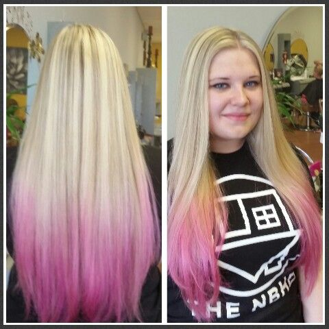 24++ Dying dirty blonde hair pink inspirations