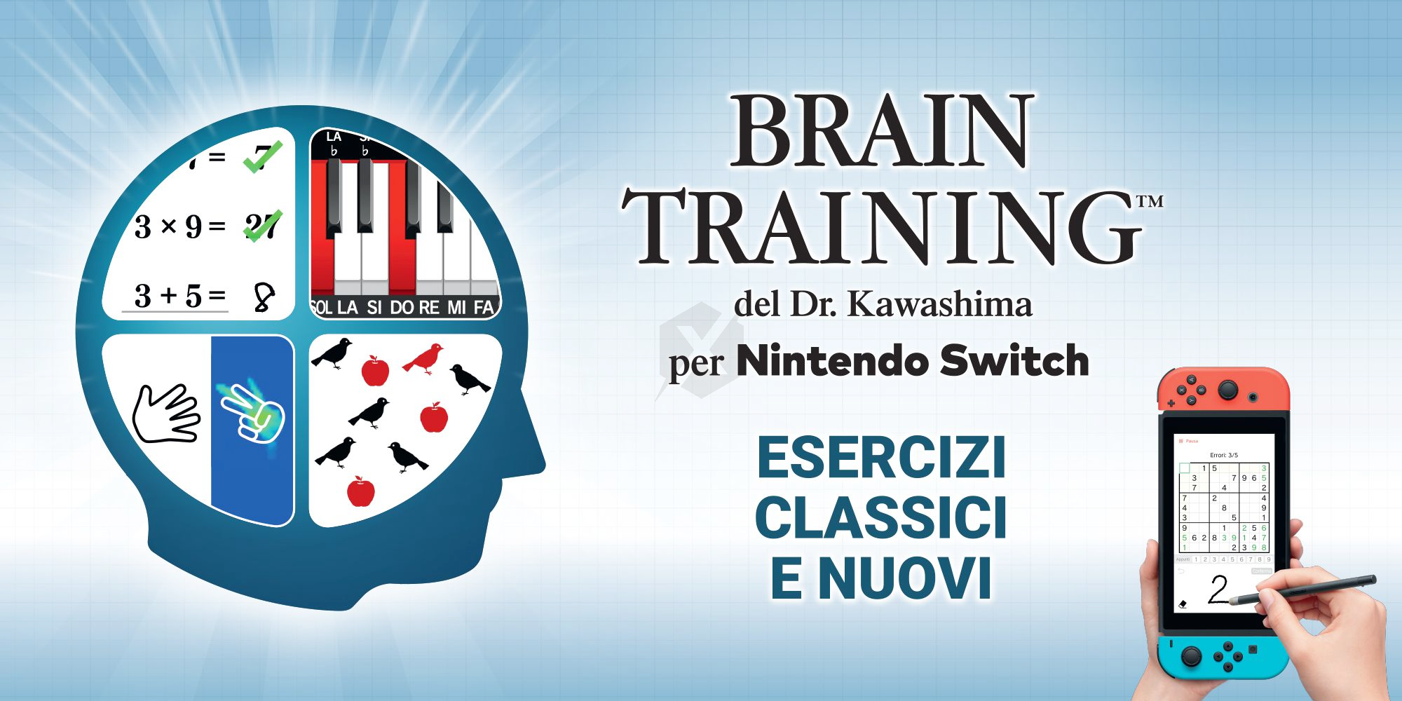 Brain Training of Dr. Kawashima is out today on Nintendo