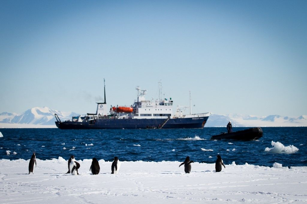 Explore the Antarctic on a 4 week Cruise South to