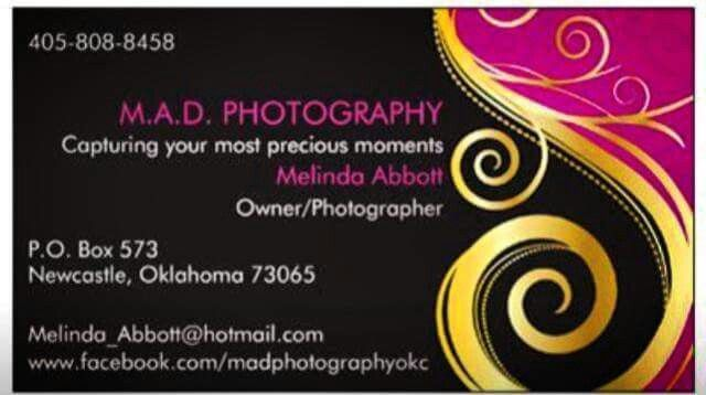 Mad Photography By Melinda Abbott Www Facebook Com Madphotographyokc Makeup Services Premium Business Cards Online Printing Services