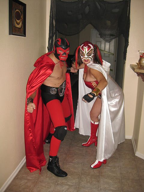 Us As Luchadores Mexican Wrestlers Luchador Costumes