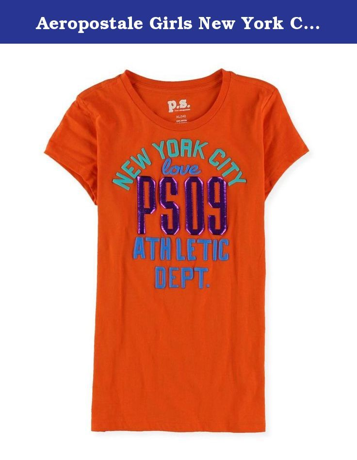 66af46476 Aeropostale Girls New York City Love Graphic T-Shirt 845 M. Brand:  Aeropostale