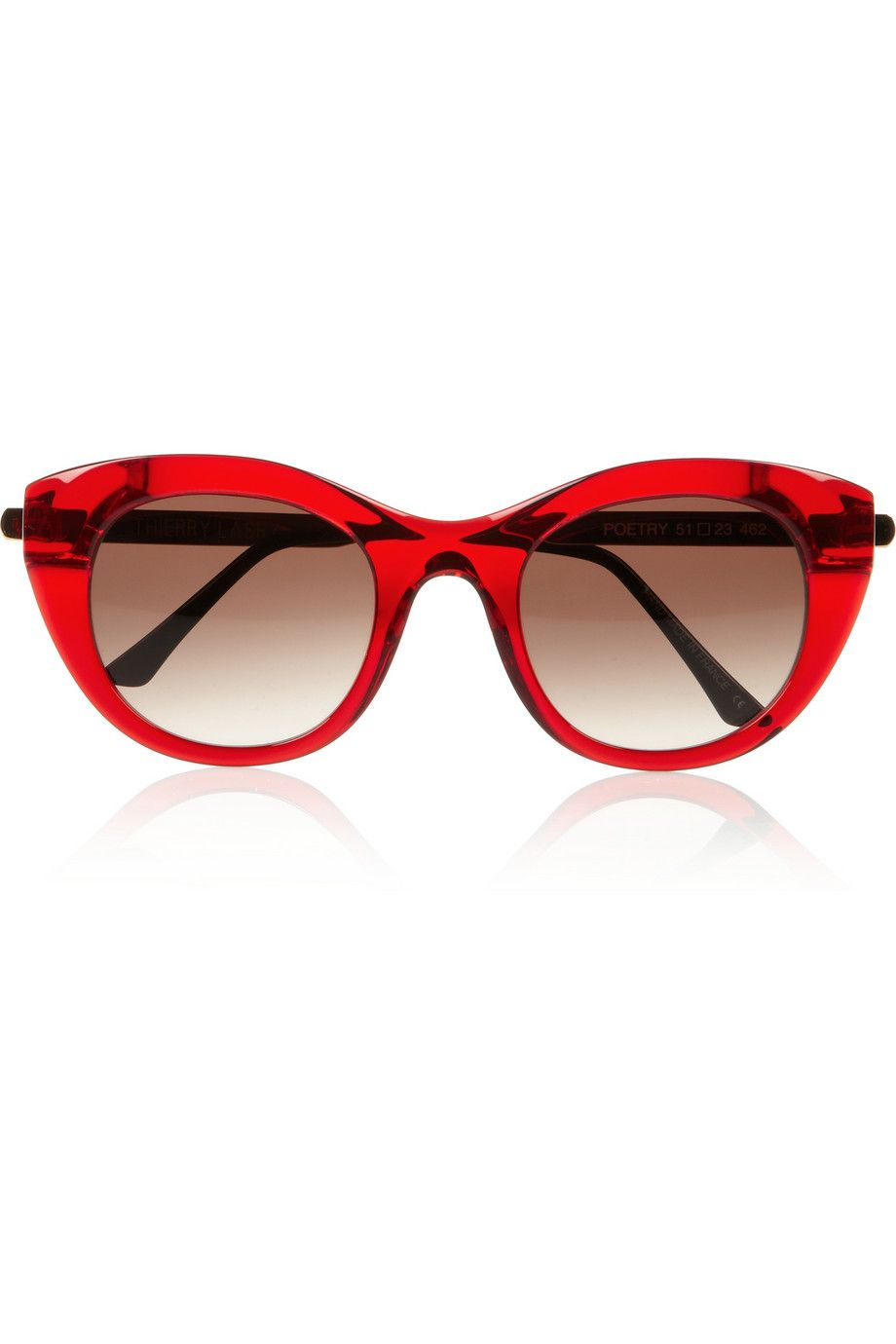 8d8792868305d Thierry Lasry Poetry cat eye acetate sunglasses - love the cherry red  style