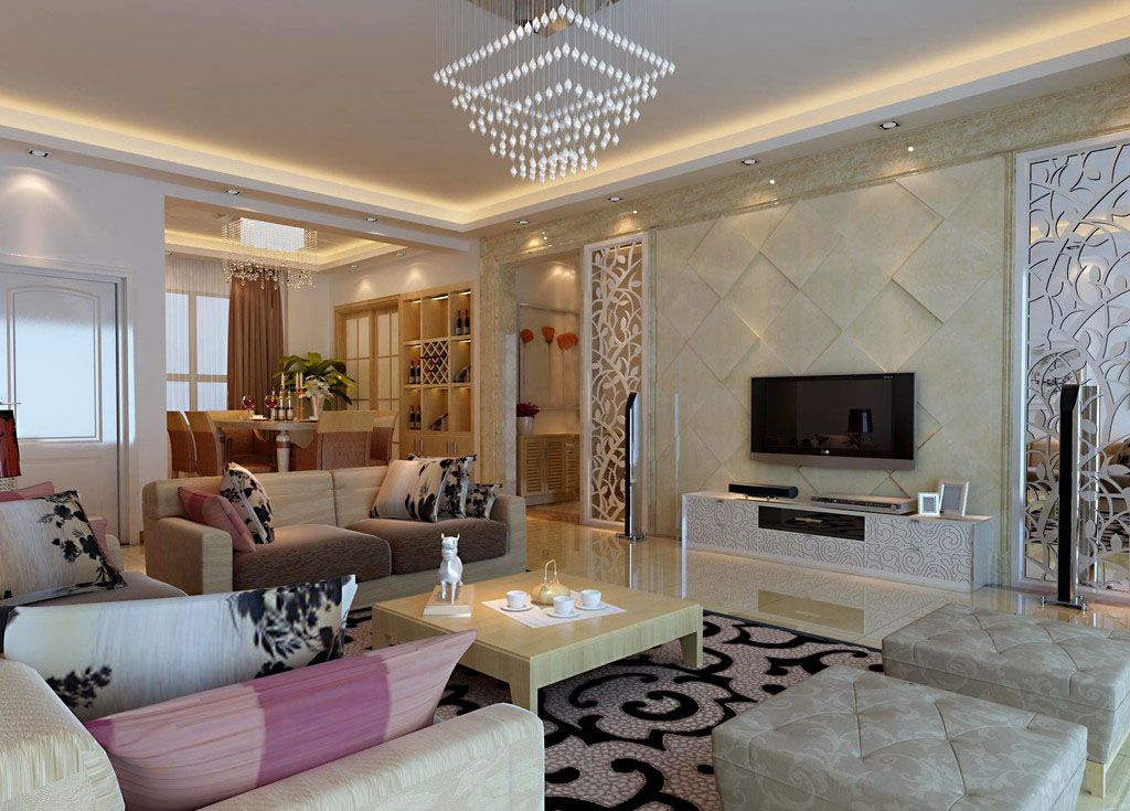 Living Room Design Modern Custom Modern Living Room Interior Design Home And Decorating  Living Decorating Inspiration