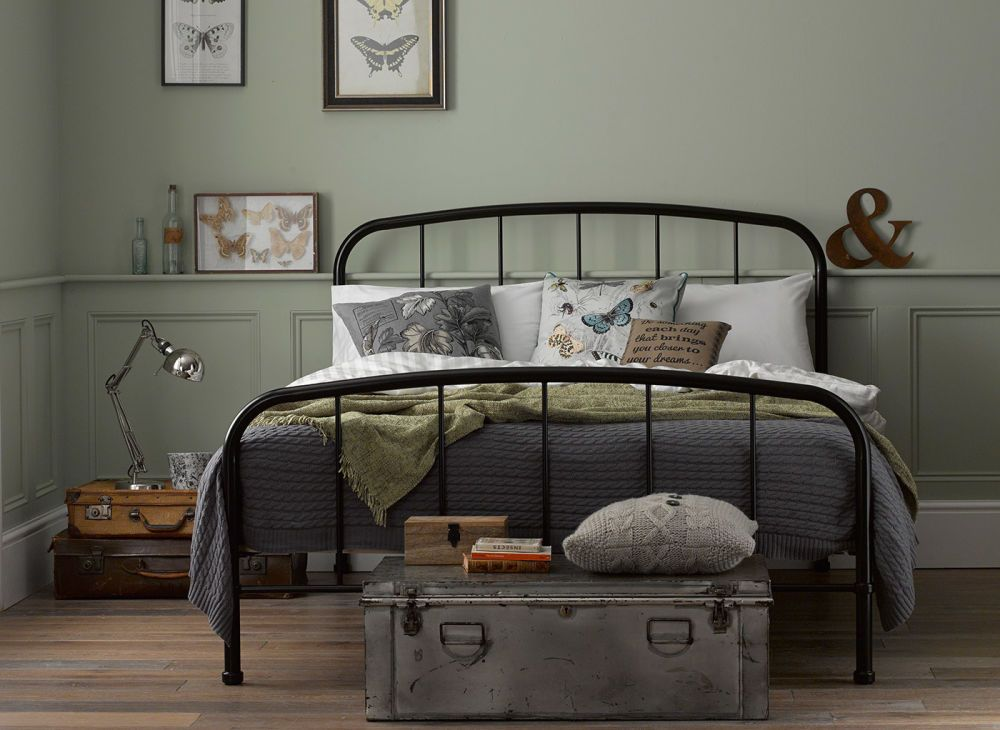 Westbrook Bed Frame Black Dreams Black Metal Bed Frame Bed