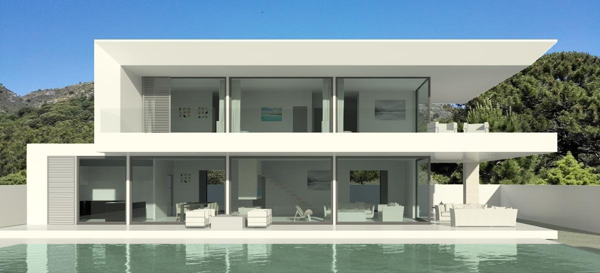 Villa Design modern turnkey villa design marbella   modern villas   pinterest