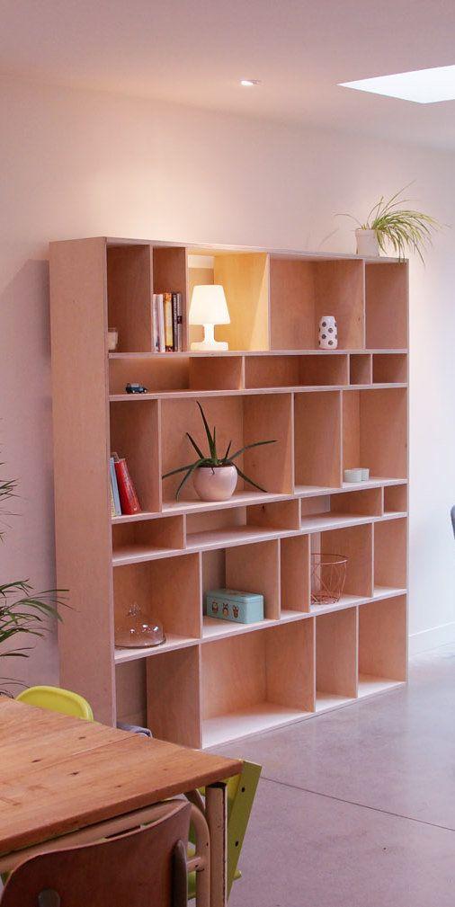 TreeSpoke I Houten boekenkast op maat zelf ontwerpen! | ons huis ...