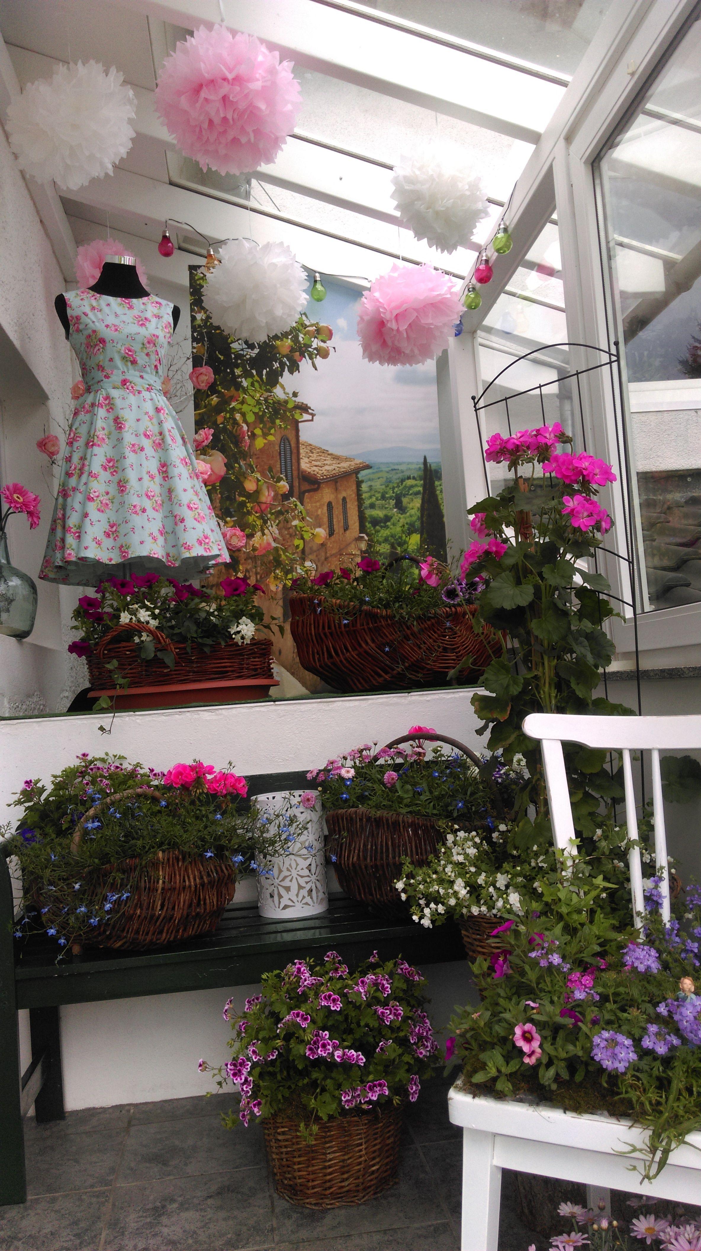 Sommerdeko Vor Der Haustür Sommerdeko Pinterest Sommerdeko