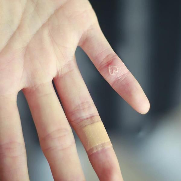 12 small stick and poke tattoo ideas pinterest tattoo for Pinky finger tattoos