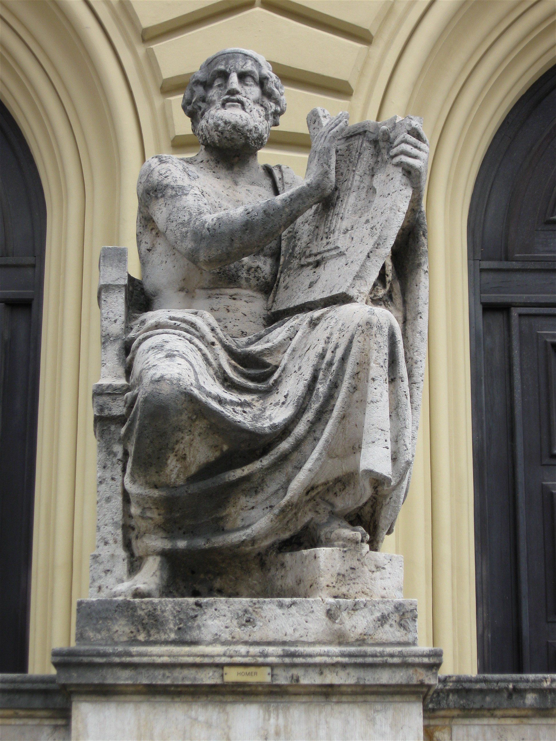 Картинка гомера греция