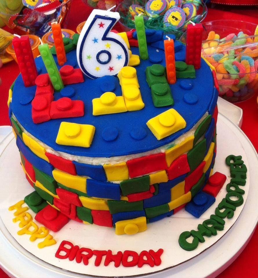 Awesome Lego Birthday Cake Chocolate Cake Facebook Com Kathyskakery Funny Birthday Cards Online Elaedamsfinfo