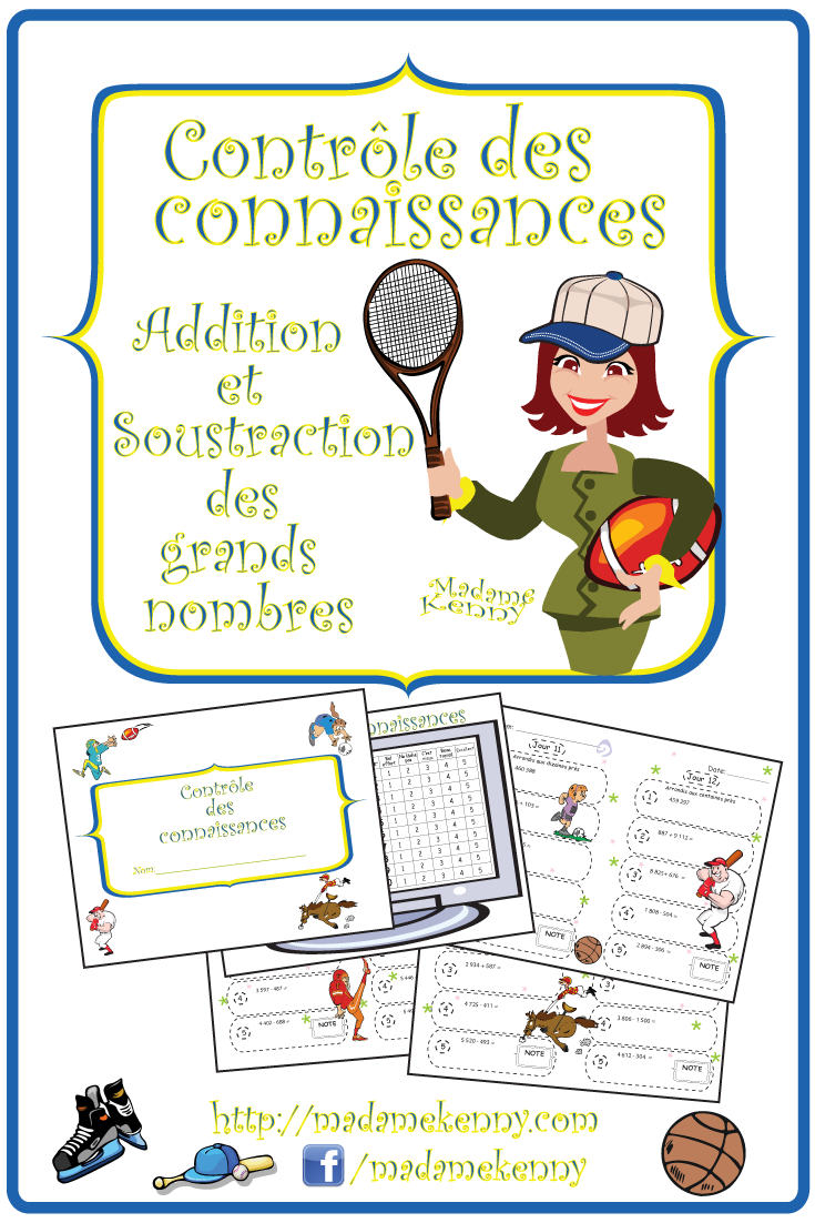 Math Worksheets In Frenchdaily Math Review Controle Des