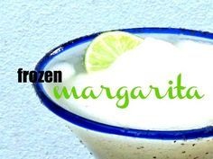 This is a quick easy way to get your fix of a frozen margarita at home. Perfect for spring-summer weekend drinking.