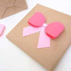 A Ribbon Bow Template  Places To Visit    Markers