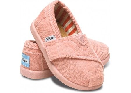 Baby Toms?! Lily will be sporting these shortly.