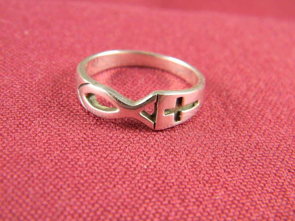 Sterling Christian Symbol Ring | Jewelery | Pinterest | Symbols ...