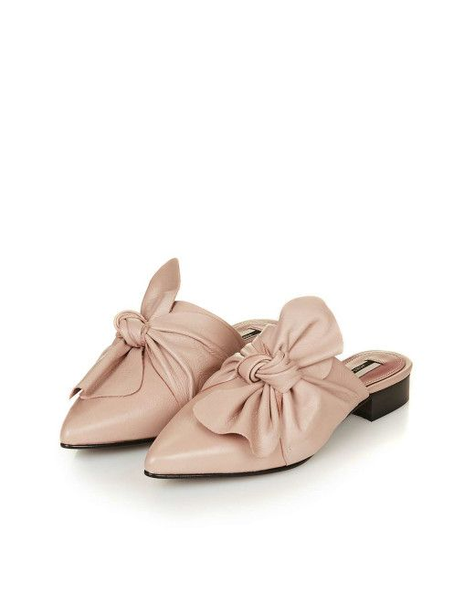 1f0a28eefd3 Women s Pink Pistachio Limited Edition Bow Mules
