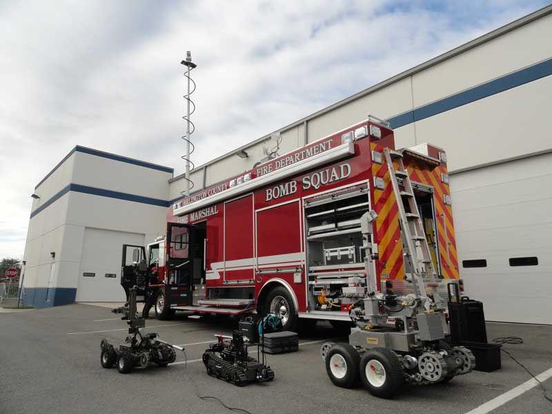 arlington fire department Arlington County Fire Bomb