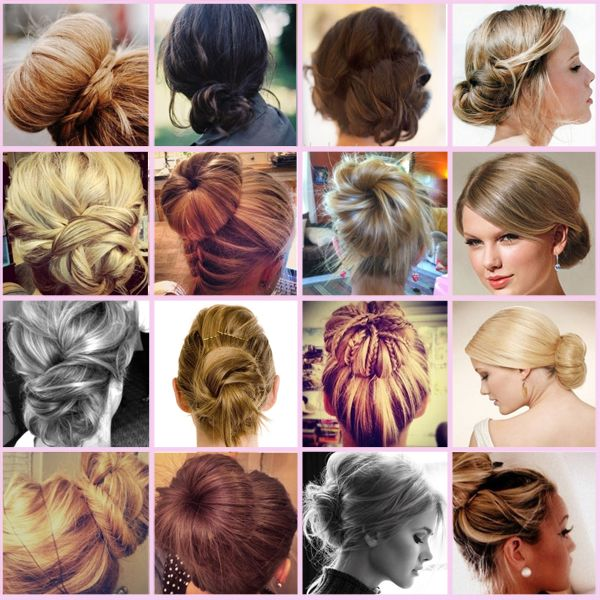 Hair Buns Tutorial And Pictures Jpg 600 600 Pixels Prom Hair Medium Simple Prom Hair Prom Hairstyles Updos