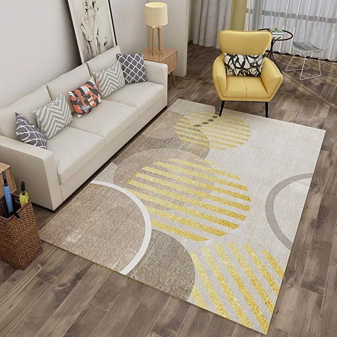 Amazon Com Chihen Modern Area Rugs Geometric Design Carpet