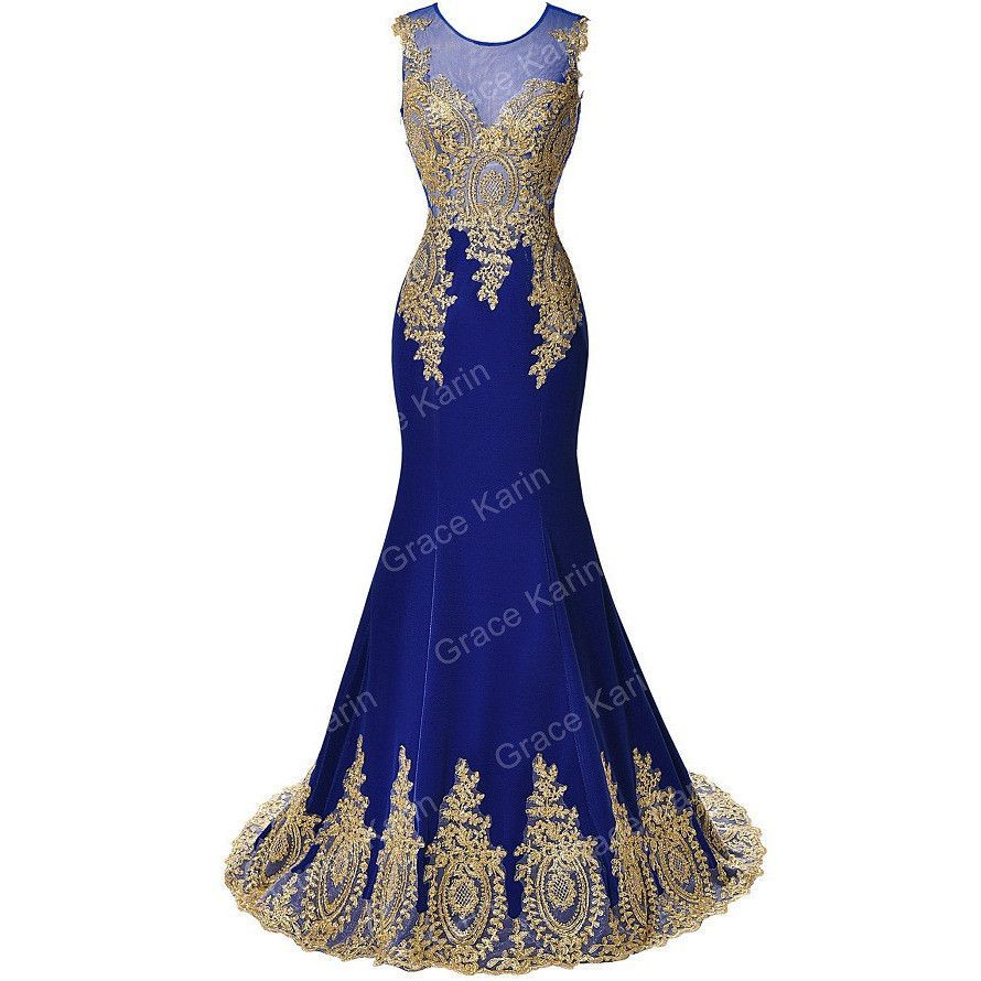 Grace karin long prom dresses for mermaid prom women clothing
